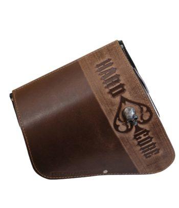 Sportster Solotasche aus Leder
